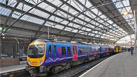 Liverpool to Manchester by train in 32 minutes