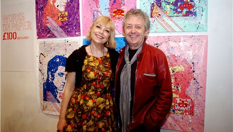Mari Wilson beats the beat to Liverpool gallery