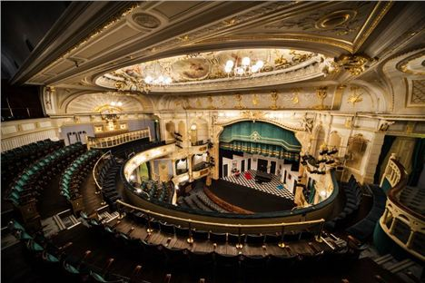 Simon Glinn's New Gig At The Frank Matcham Designed Buxton Opera House