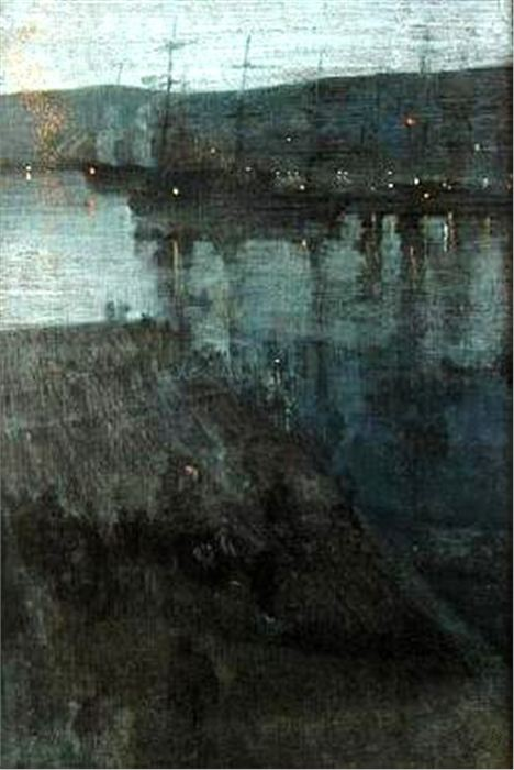 Nocturne In Blue And Gold _ Valpasiro Bay