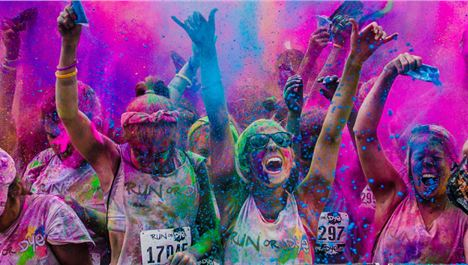 Colour run won't be a washout