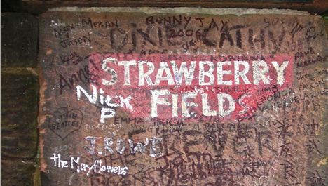 New home for Strawberry Field gates
