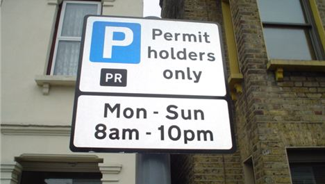 Households set to be charged for parking outside own front doors