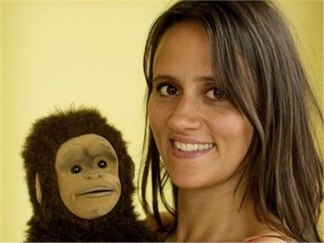 Nina Conti, Who Learned Ventriloquism After Hanging Around With Ken Campbell, Appears At The Discordian Ball On November 22 At Camp %26#38%3B Furnace