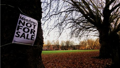 City councillors form historic coalition to fight green space sell-off
