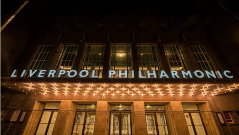 Liverpool's name in lights at new-look Philharmonic Hall