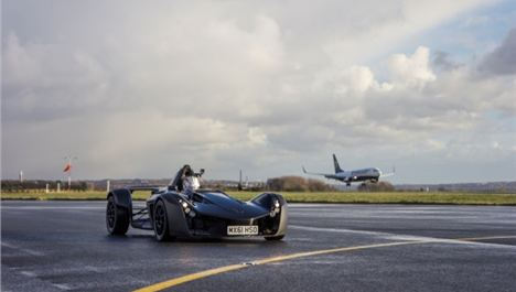 Speke-made racing car is a runway success