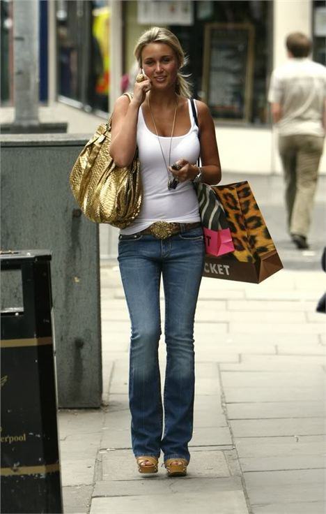 Alex Gerrard Enjoys Some Retail Therapy