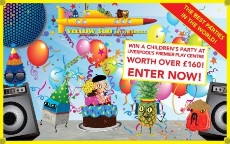 WIN a children's party at Liverpool's premier play centre worth over £160