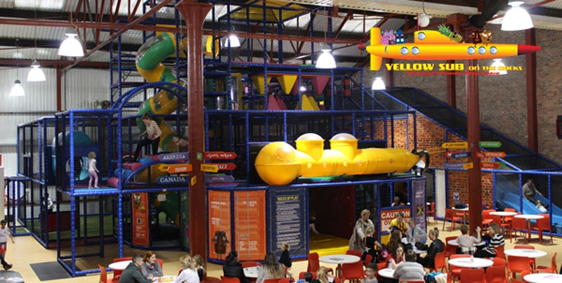 Yellow Sub Liverpools Premier Indoor Play Centre Kids